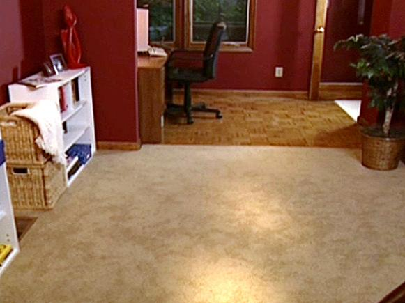 How to Install Wall-to-Wall Carpeting | HGTV How To Lay Carpet In A Bat on