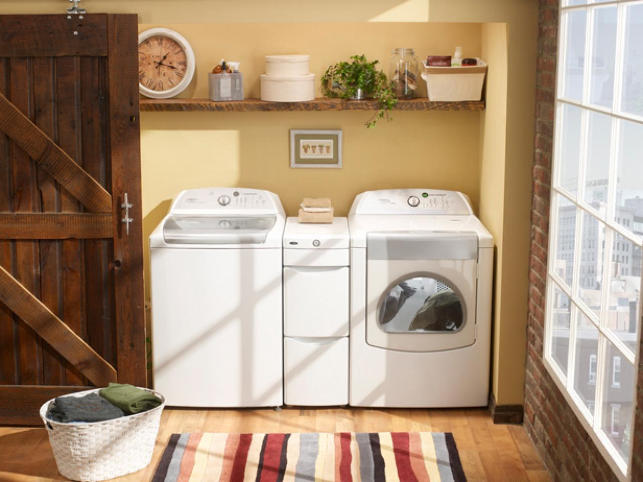 Captivating 7 Stylish Laundry Room Decor Ideas | HGTVu0027s Decorating U0026 Design Blog | HGTV
