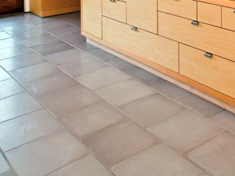 Tile Flooring in the Kitchen