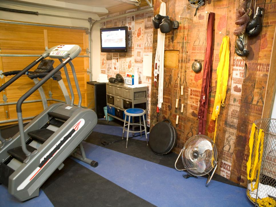 Home gyms in any space hgtv