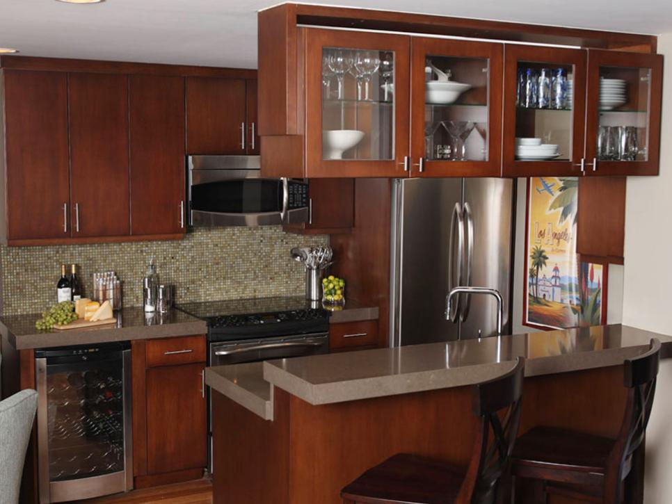 Small kitchen island ideas pictures tips from hgtv hgtv - Contemporary kitchen design ideas tips ...