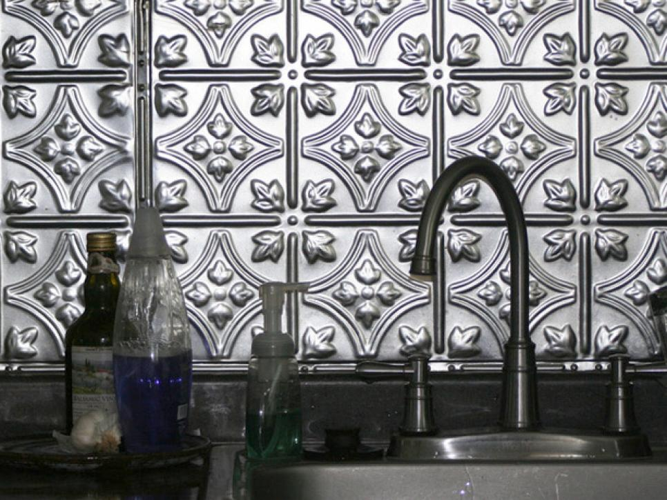 Swell Metal Backsplash Ideas Hgtv Home Interior And Landscaping Ologienasavecom