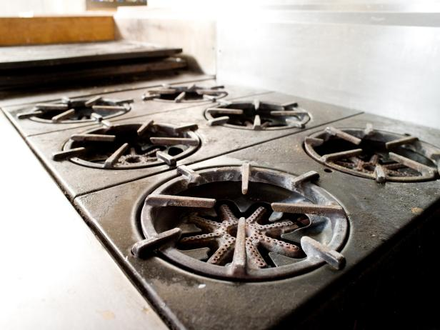 Commercial Kitchen Gas Range