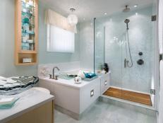 Corner Bathtub Design Ideas