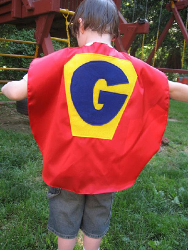 Personalized Kids' Superhero Cape