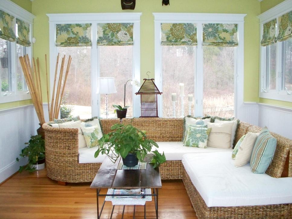 9 Creative Patterned Roman Shades Hgtv
