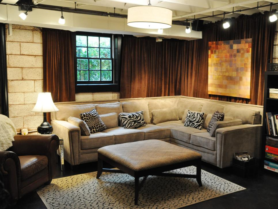 Basement Finishing Costs HGTV Delectable Ideas For Finishing Basement Creative