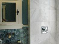 Bathroom with Tile, Marble, and Granite