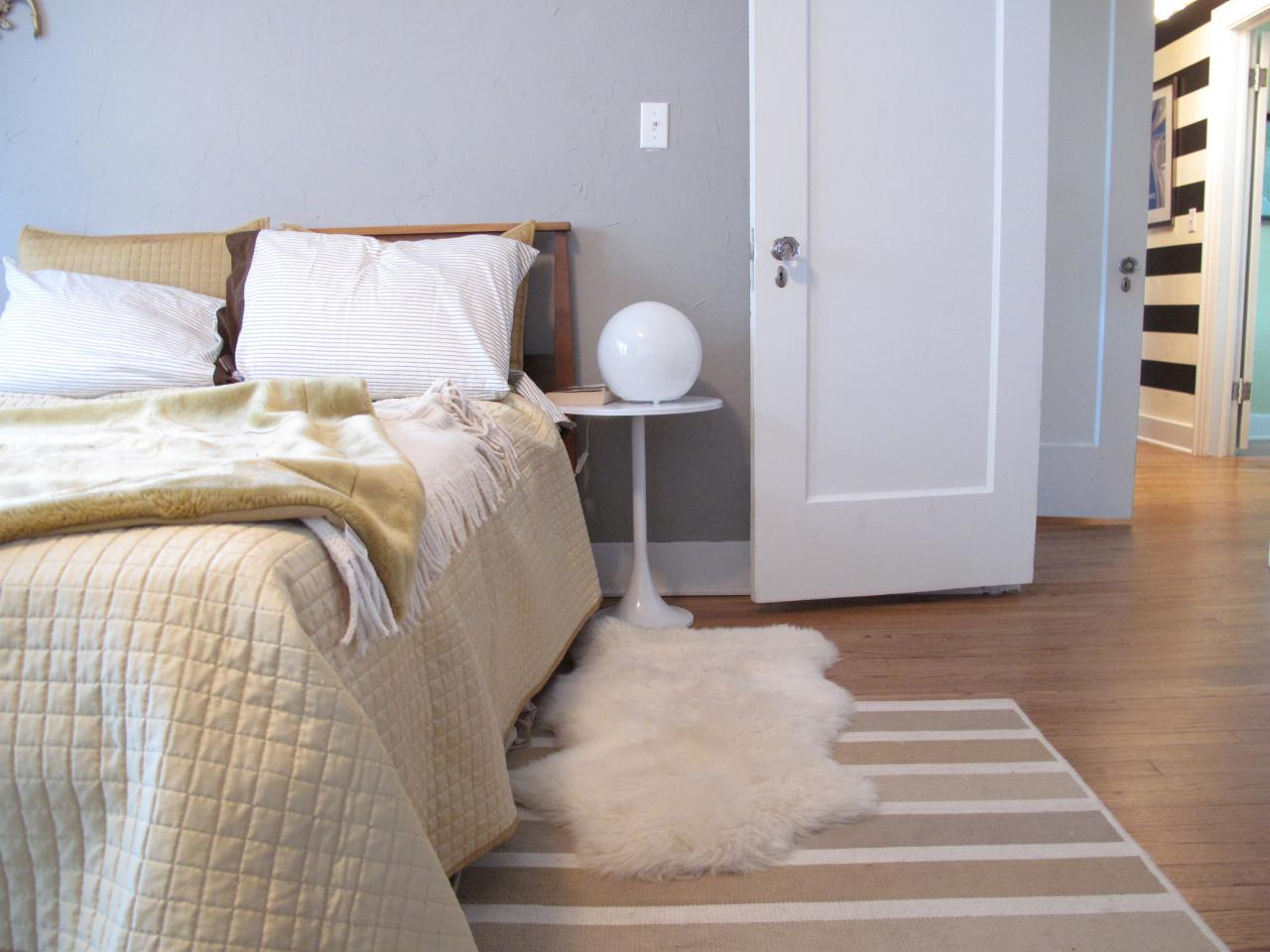 bedroom carpet ideas pictures options ideas hgtv 17316 | original layered rugs kathleen shannon bedroom s4x3 rend hgtvcom 1280 960
