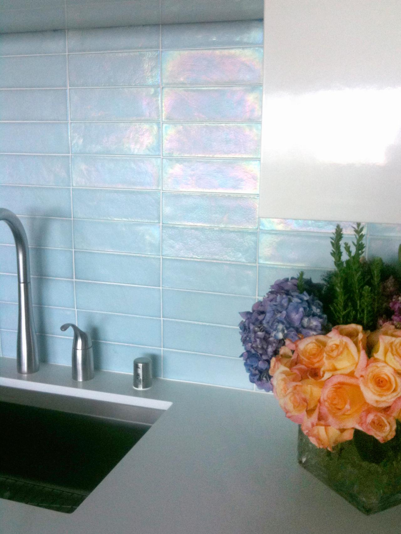 Kitchen Update: Add a Glass Tile Backsplash | HGTV