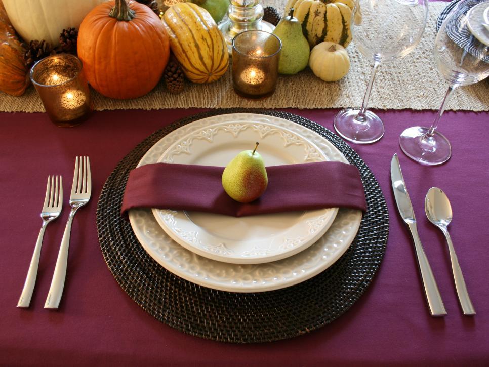 Topped With a Bow & 15 Stylish Thanksgiving Table Settings | HGTV