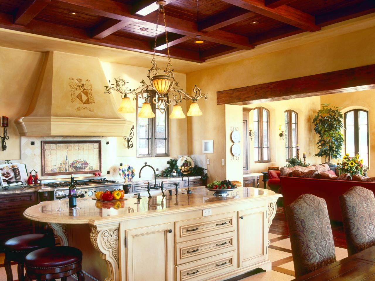 tuscan kitchen design on a budget photos hgtv 942