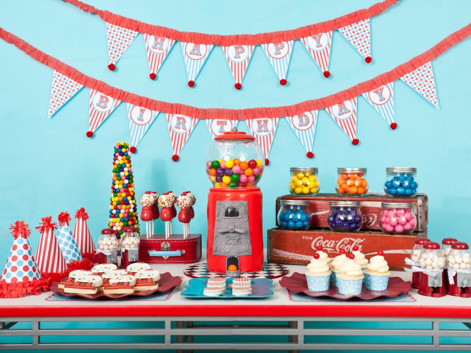 DIY Favors And Decorations For Kids Birthday Parties