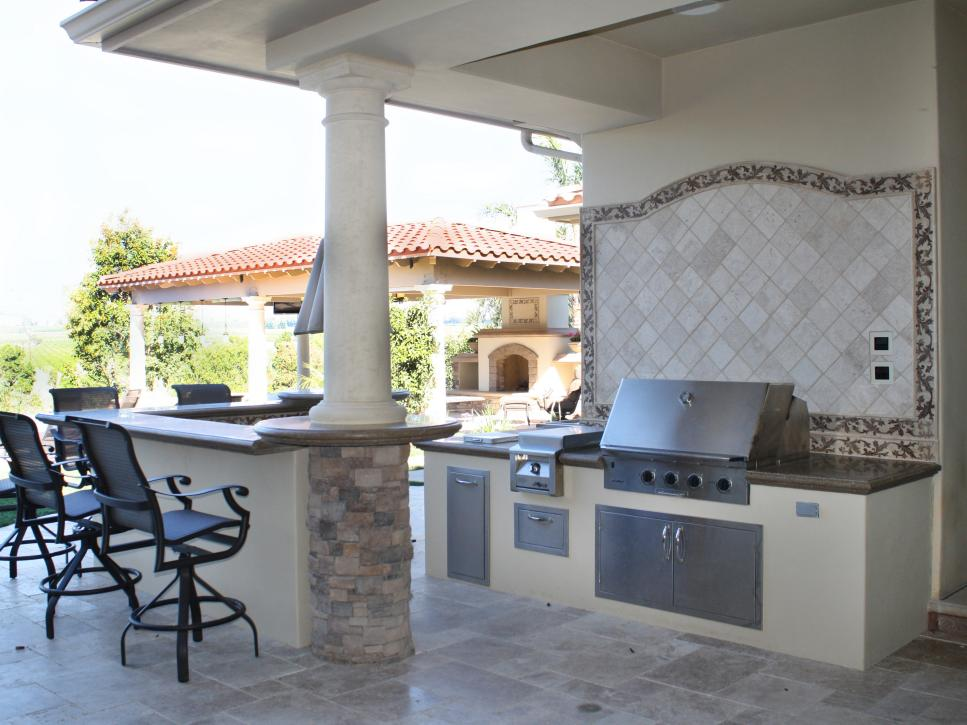 Cheap outdoor kitchen ideas hgtv shop related products solutioingenieria Image collections