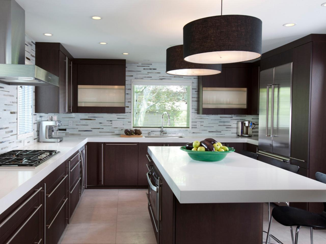 Black kitchens are the new white hgtv 39 s decorating design blog hgtv Modern kitchen design trends 2014