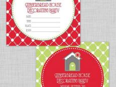Gingerbread Invitations