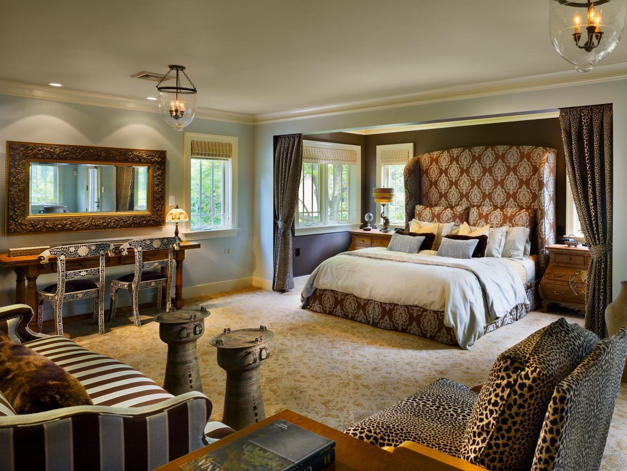 african inspired bedroom and sitting room hgtv rh photos hgtv com