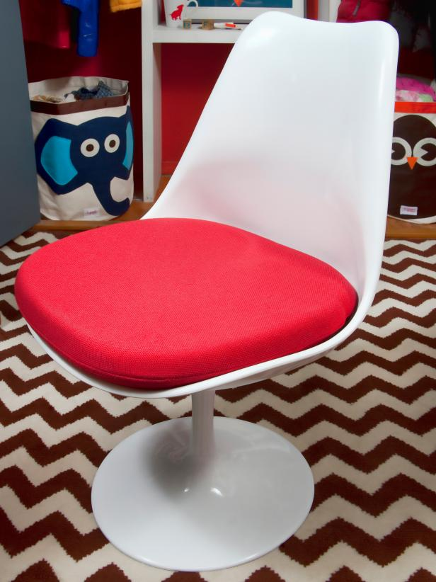 Tulip Chair in Child's Room