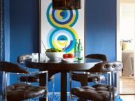 Dining Room in Blue