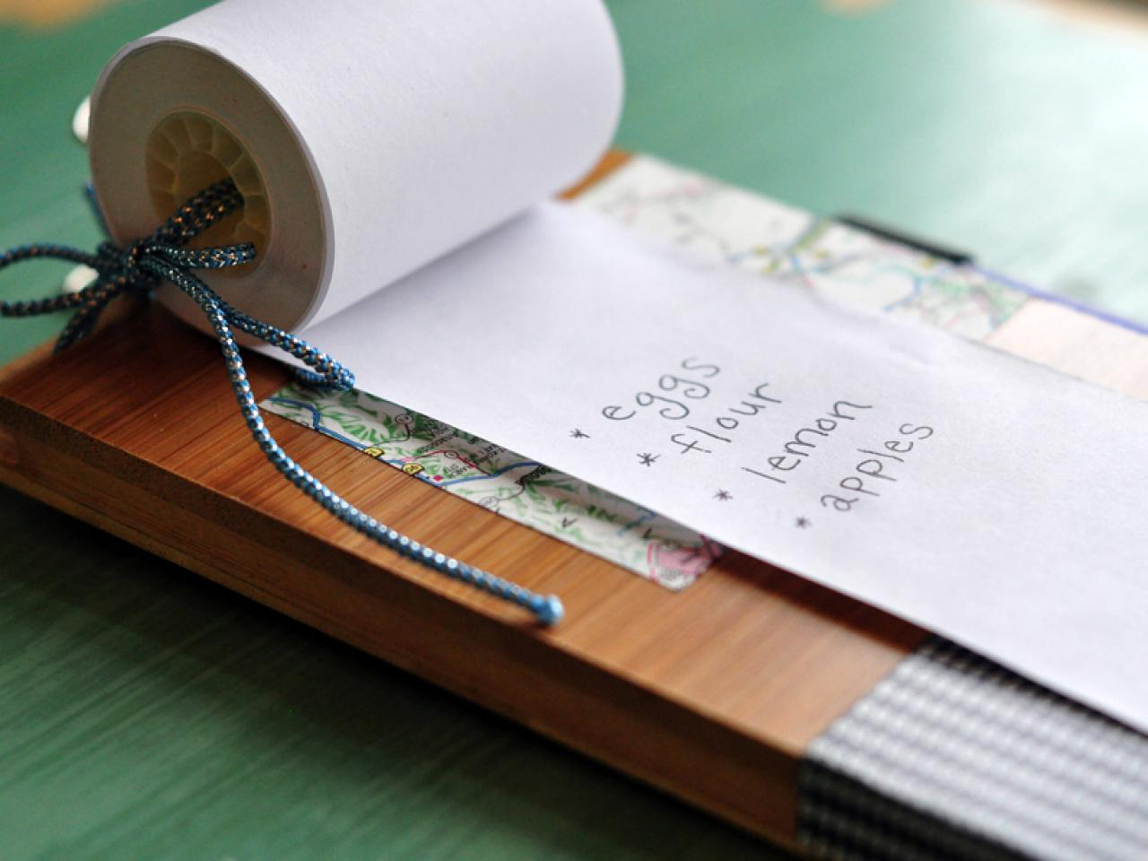 How To Make A Hanging Notepad Hgtv