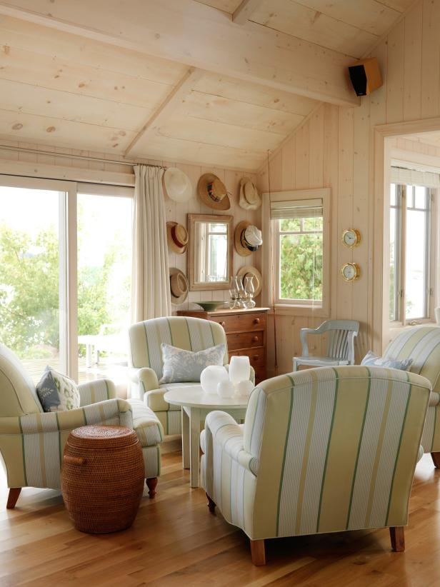 Cottage Sitting Room With Views