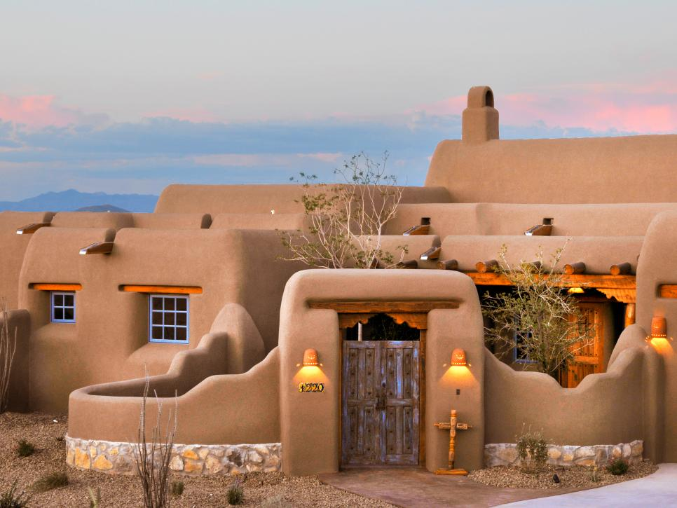 10 spanish inspired outdoor spaces hgtv for Southwestern home plans