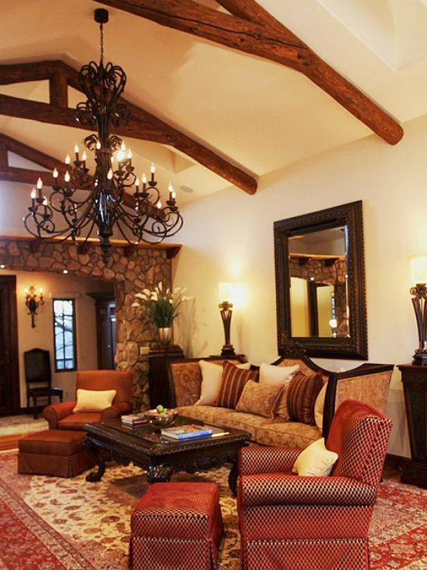 Elegant Spanish Living Room Hgtv