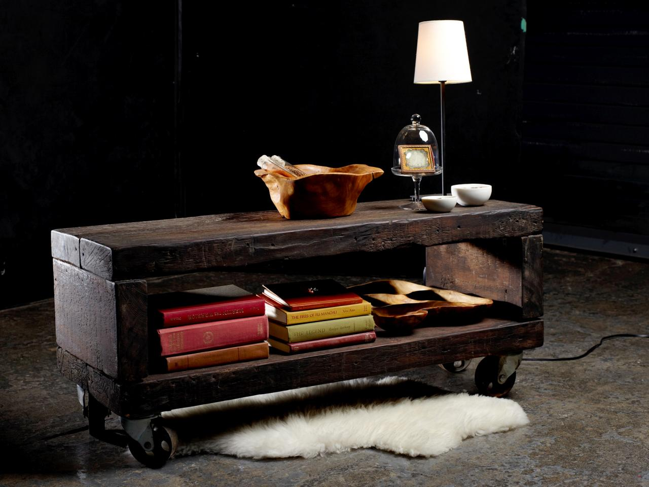 Reclaimed Lumber Coffee Table HGTV