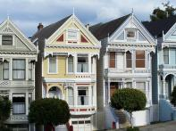 San Francisco Painted Ladies Row Homes