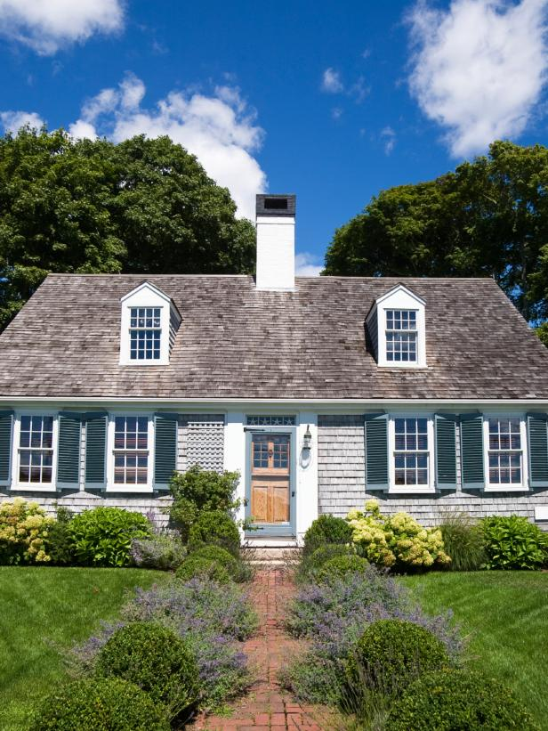 Colonial Cape Cod Home