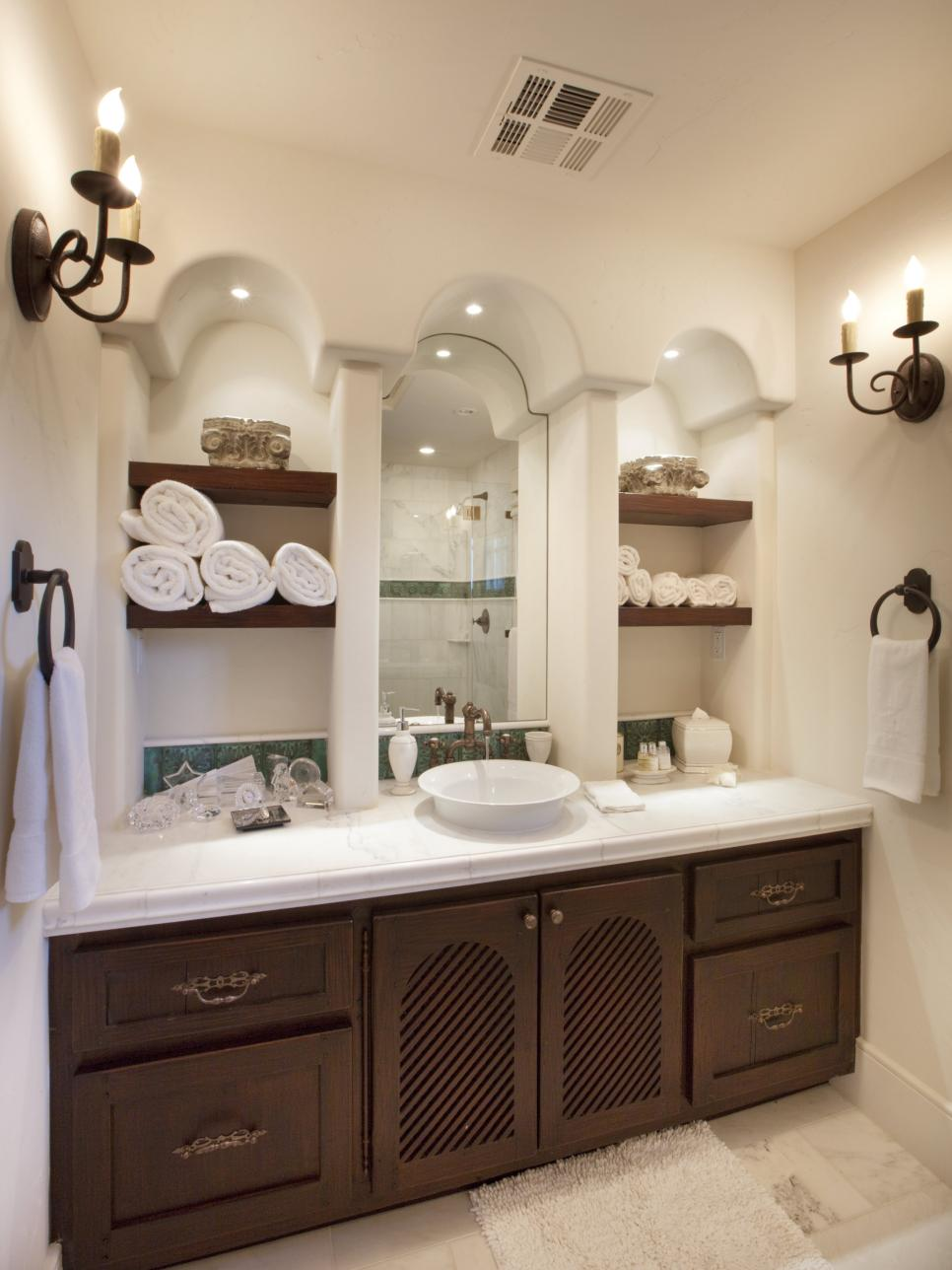 storage bathroom ideas 12 clever bathroom storage ideas hgtv 2052