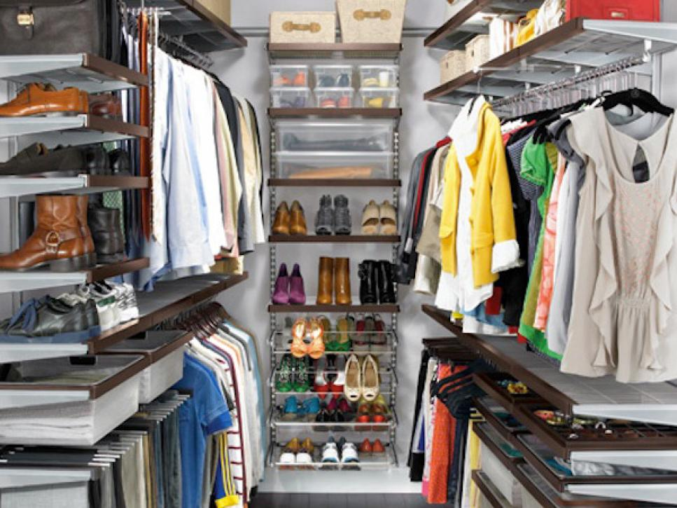 Closet storage ideas hgtv for Storage ideas for small bedrooms with no closet