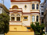 Victorian San Francisco Row House