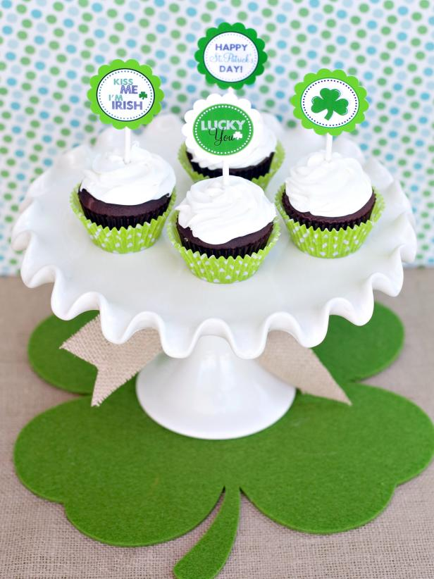 a4e740d0d2f St. Patrick s Day Cupcake Toppers