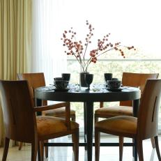 Bright Sunlight Enlivens Dining Area