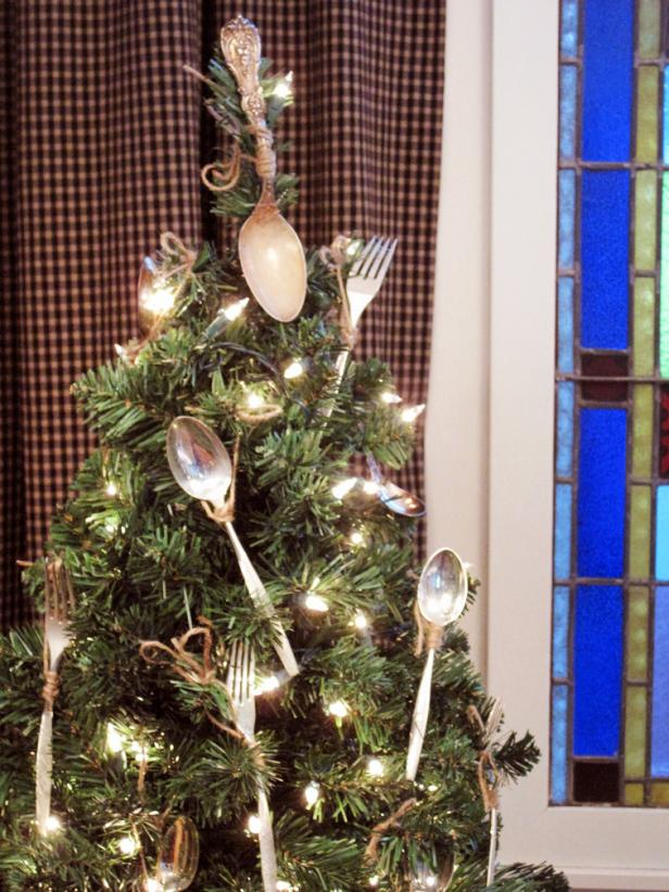 Ornamental Cutlery Christmas Tree