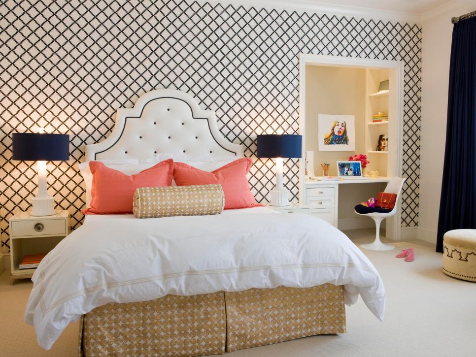 48 Bedroom Design Ideas For Teenagers HGTV Mesmerizing Bedroom Design For Teenagers