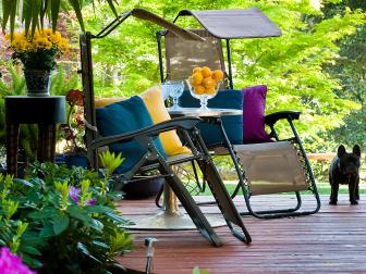 Shaded Outdoor Seating