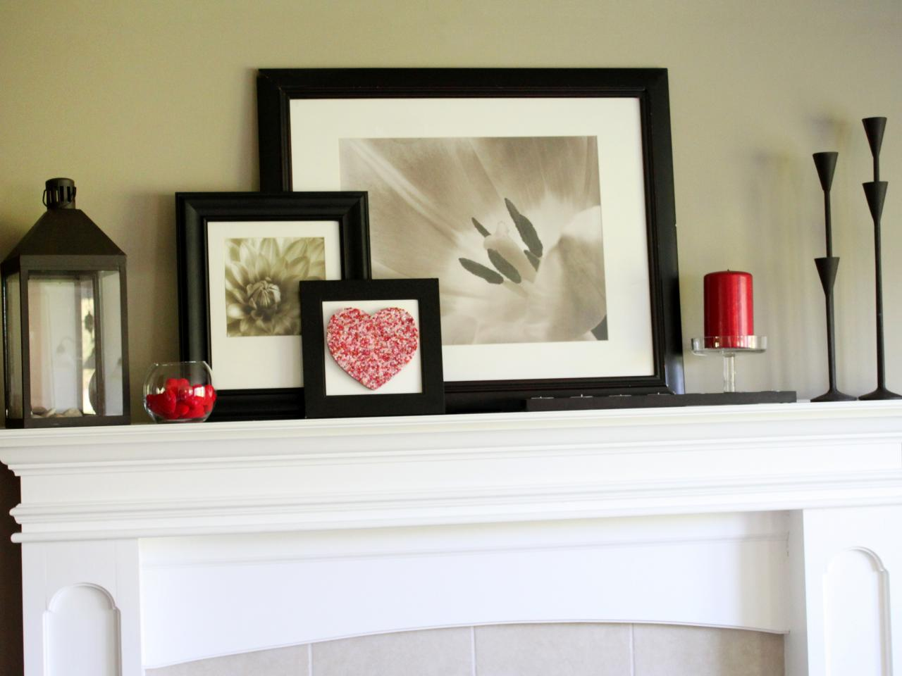 15 ideas for decorating your mantel year round hgtv 39 s for How to design a fireplace mantel