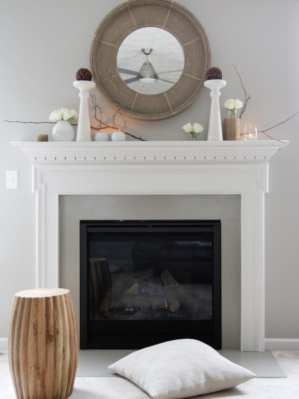 Related To: Design 101 Decorating Themes Fireplaces Mantels & Decorate Your Mantel Year Round | HGTV