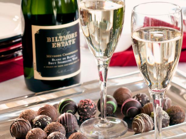Chocolate Truffles and Champagne Biltmore Estate