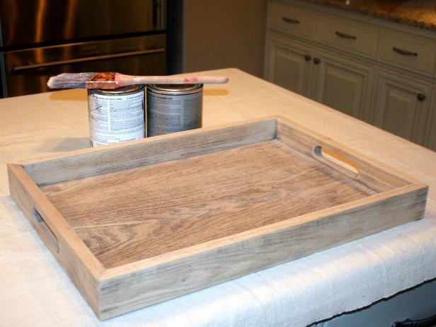 Materials for Chalkboard Tray