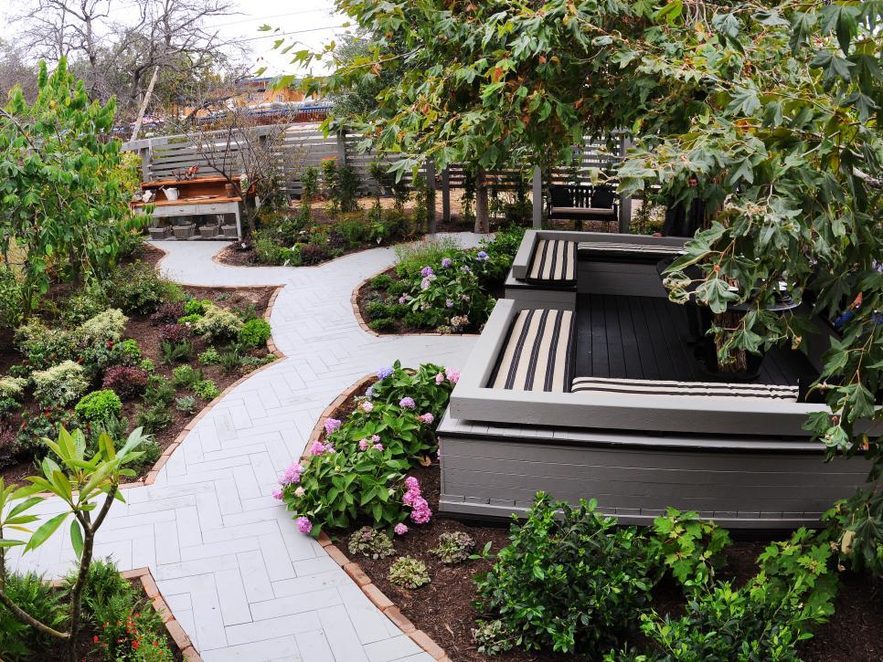 48 Outdoor Flooring Ideas HGTV Custom Backyard Flooring Options Property