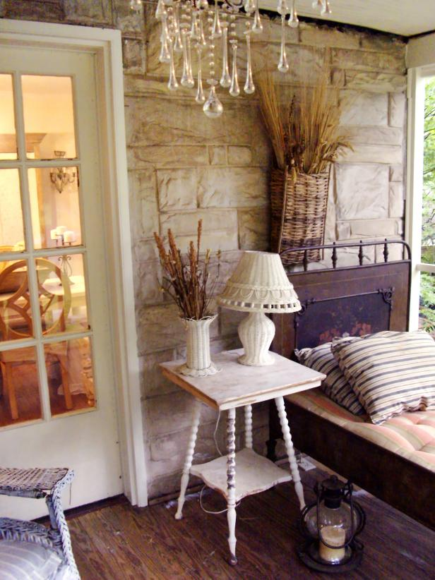 Shabby Chic Decorating Ideas for Porches and Gardens | HGTV