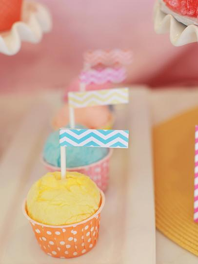 Cotton Candy Themed Birthday Party Hgtv