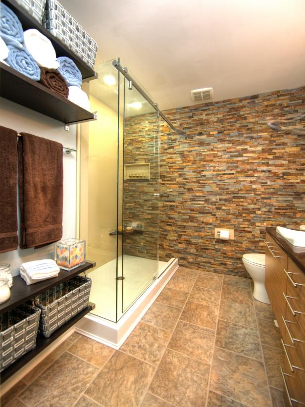 48 Tub And Shower Storage Tips HGTV Impressive Free Bathroom Remodel