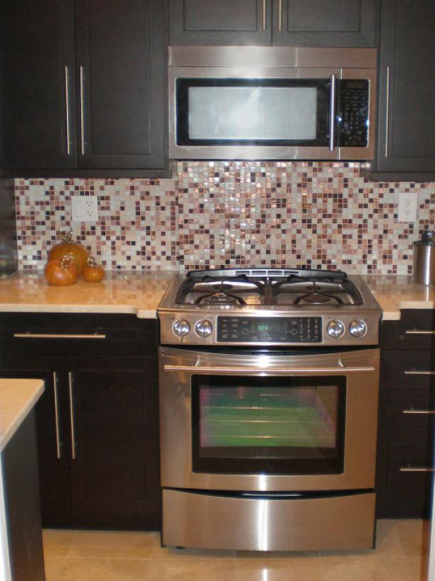 Mosaic Tile Kitchen Backsplash | HGTV
