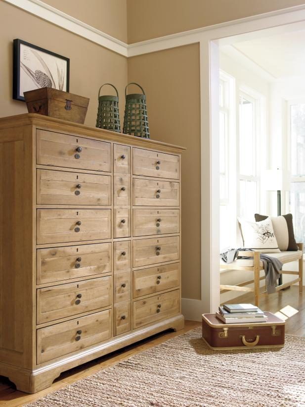 Seven tips from HGTV on how to shop for a dresser | HGTV on antique furniture, frosted glass drawer dressers, dimensions of dressers, sizes of dressers, names of dressers, simple dressers, colors of dressers, glass handles for dressers, cabriole leg, parts of dressers, bedroom furniture,