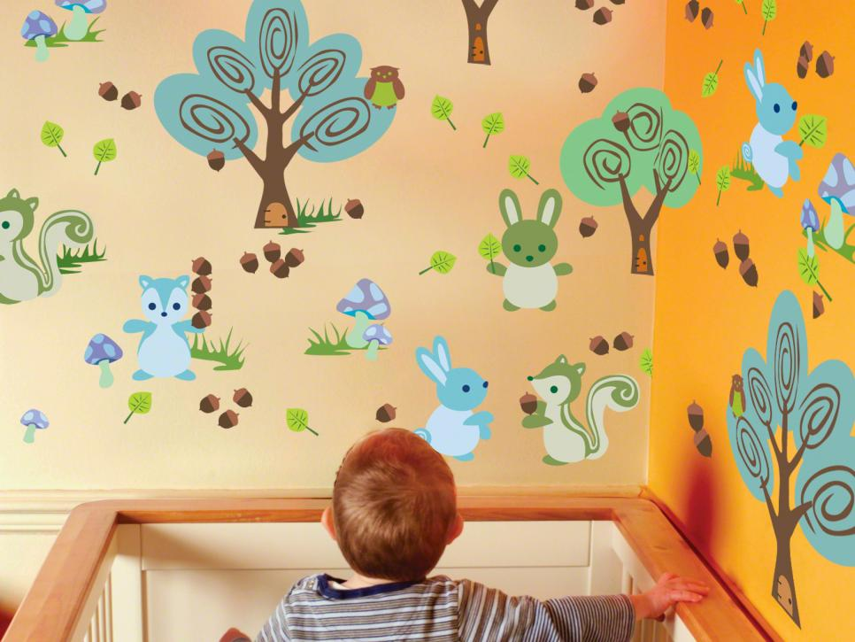 The Coolest Wall Decals for Kids\' Rooms | HGTV