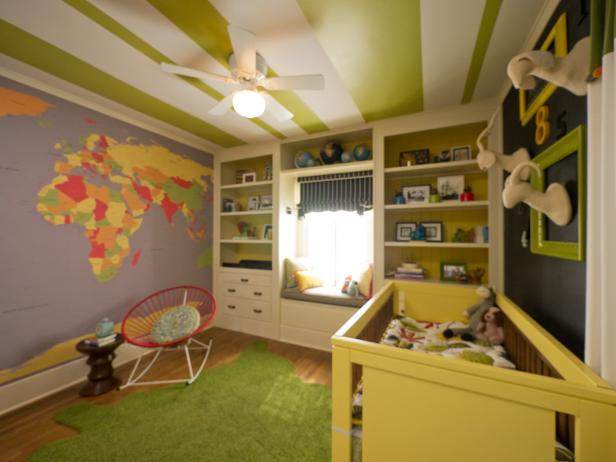 Wee World Explorer Gender Neutral Nursery Hgtv